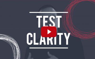 Test Clarity